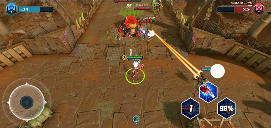 Marvel Realm of Champions Global Pre-Registration and Open Beta Gameplay