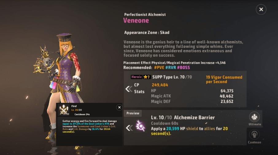 A3 Still Alive Heroic Soul Linker Tier List Veneone