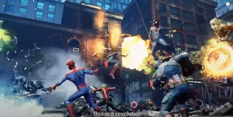 20201 upcoming high quality mobile games on iOS and Android - Marvel Future Revolution MMORPG