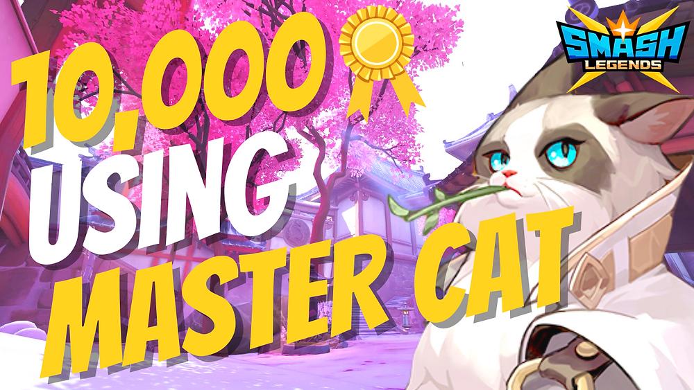 Smash Legends Master Cat Guide