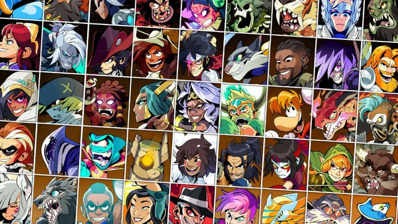 Brawlhalla Legends and Characters