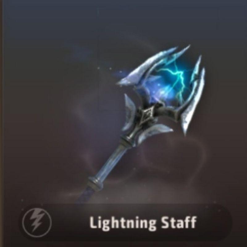 A3 Still Alive Best Battle Royale Weapon Tier List - Lightning Staff
