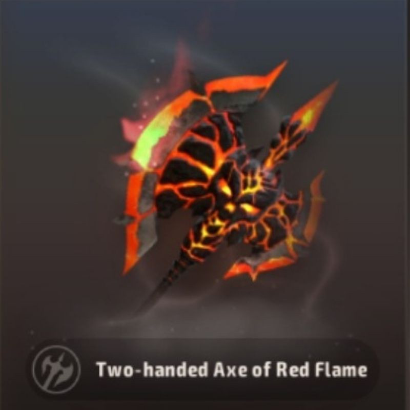 A3 Still Alive Best Battle Royale Weapon Tier List - Axe of Red Flame
