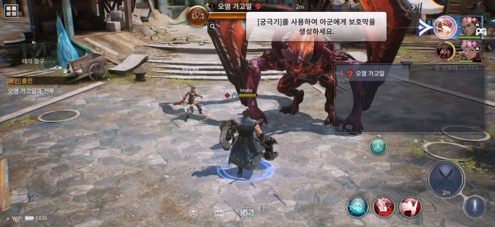 Seven Knights 2 Gameplay and Combat