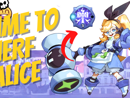 ALICE IS WAY TOO STRONG - NERF INCOMING / SMASH LEGENDS