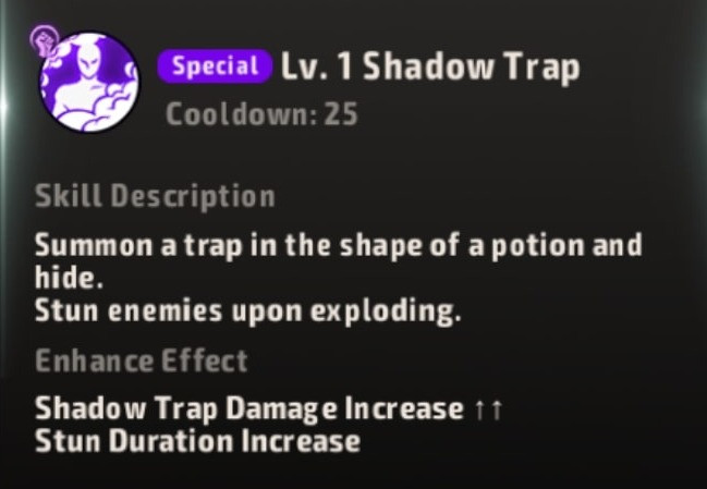 A3 Still Alive Battle Royale Dark Scythe Shadow Trap