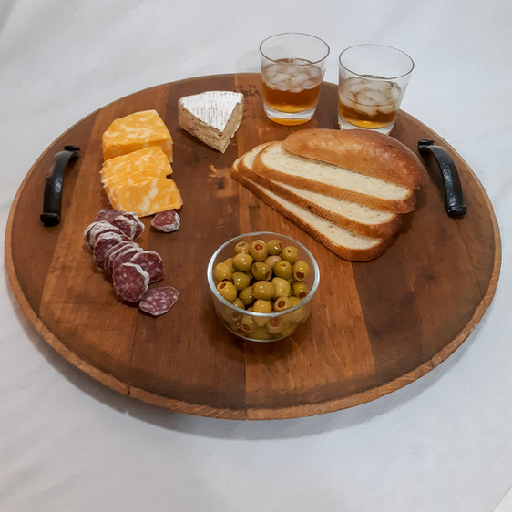 Lazy Susan with handles