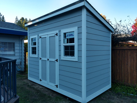 N. Forester Style Shed