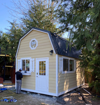 12W x 16D BARN STYLE SHED