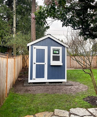 8W x 8D RANCHER STYLE SHED