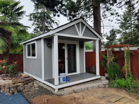 10W x 12D RANCHER STYLE SHED