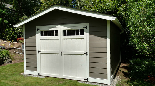 G. Rancher with Double Shed Doors