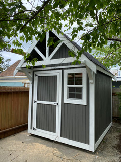 8W x 10D RANCHER STYLE SHED
