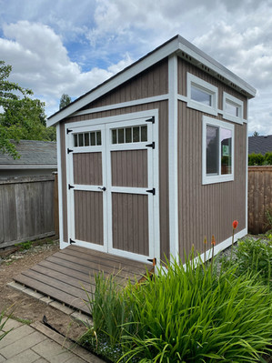 10X8 FORESTER STYLE SHED