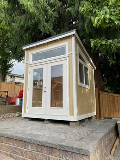 8W x 8D FORESTER STYLE SHED