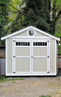 10W x 10D RANCHER STYLE SHED