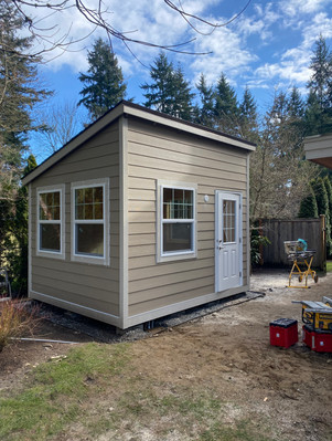 12X10 FORESTER STYLE SHED