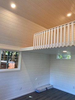 12W x 16D BARN STYLE SHED INTERIOR