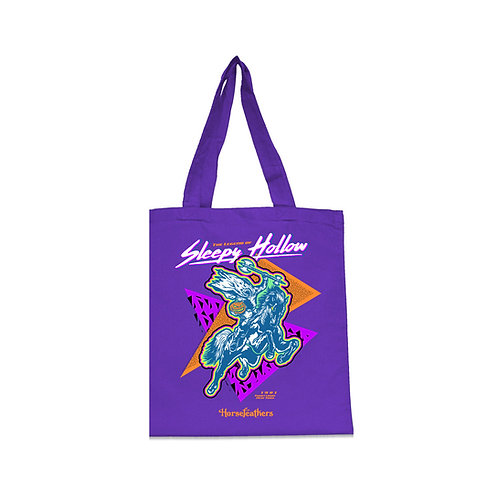 Sleepy Hollow / Horsefeathers Tote - Purple