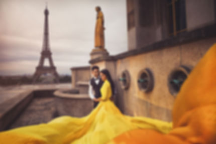 Kassaundra - Paris Makeup Artist & Hair Stylist - Elopement Wedding Photoshoot | Paris