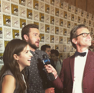 Justin Timberlake, Anna Kendrick) ITW by Mark Malkin - Comic Con - TV