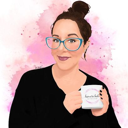 Lisa Kade - MakeMe Olivia - Watercolour.