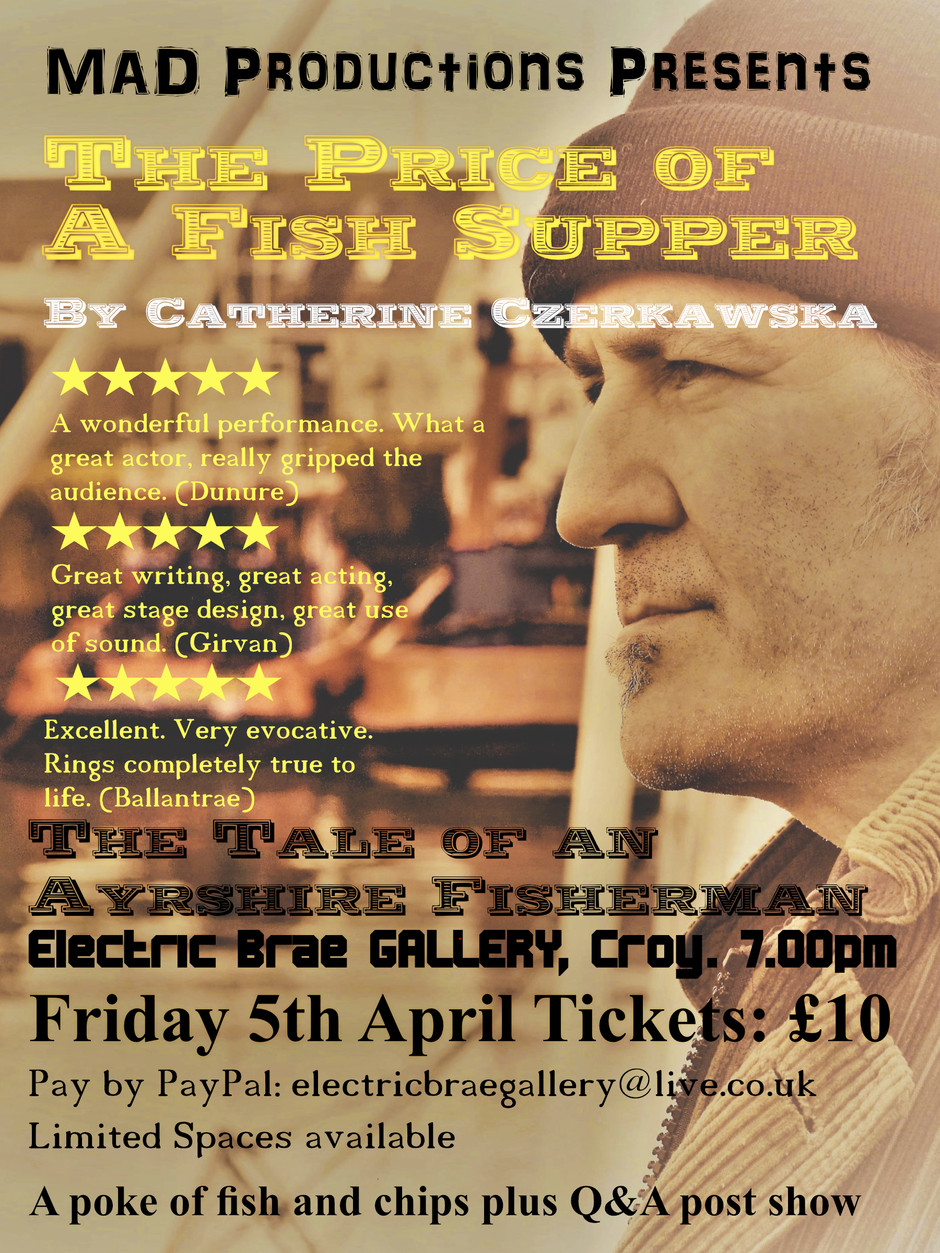 The Price of a Fish Supper                  Friday 5th April