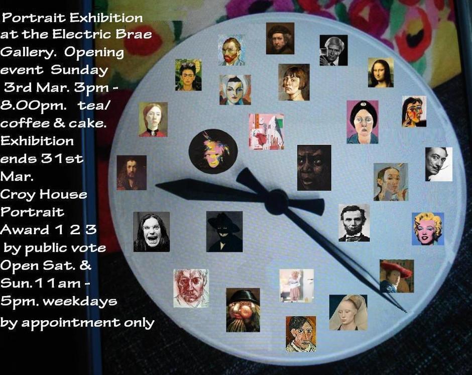Portrait Exhibition                                   3rd - 31st March 2019