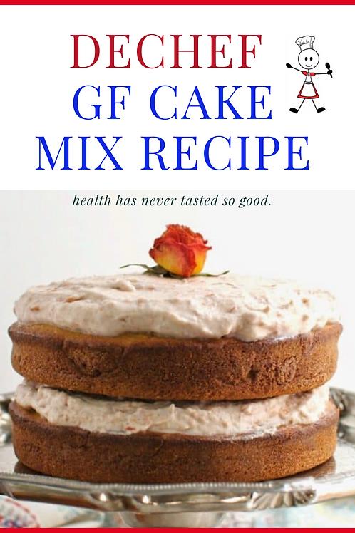 DeChef GF CAKE MIX