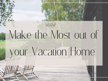 Vacation Homes - Offset Your Other Income, and Get a Huge Refund!