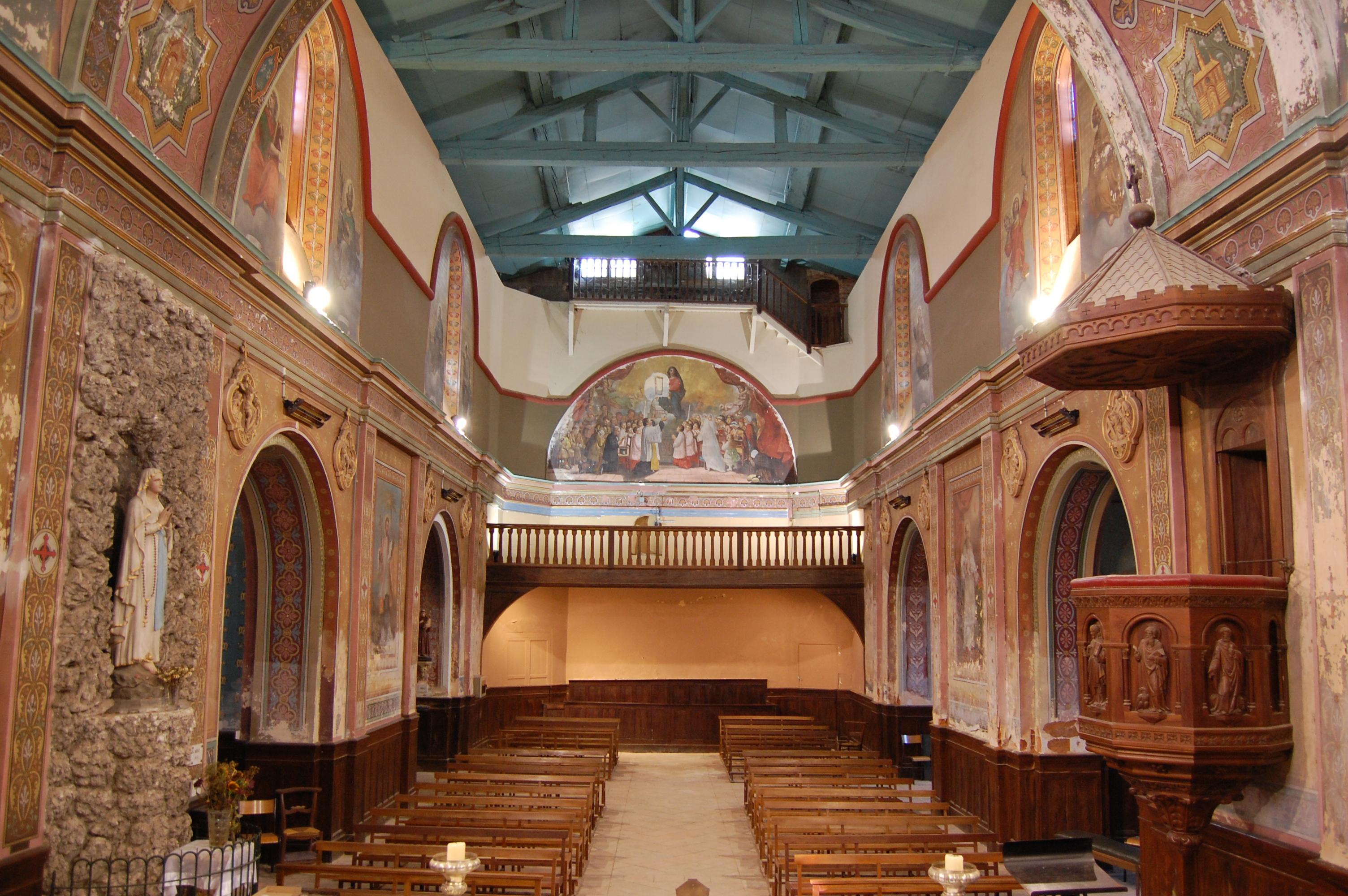 Eglise (Paulhac) Avant chantier