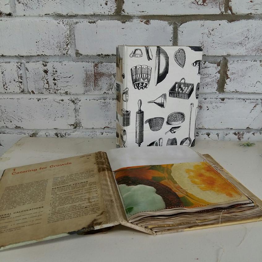 Book Art Studios recipe book9.