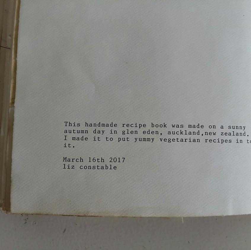 Book Art Studios recipe book6.