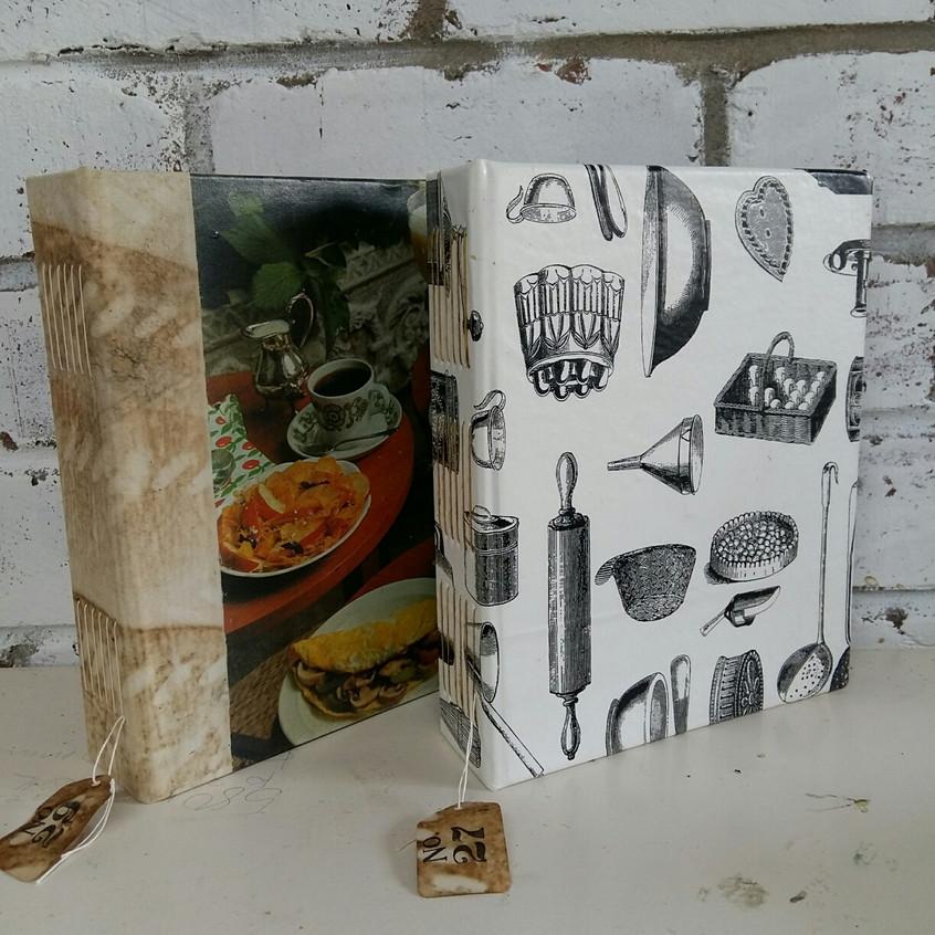 Book Art Studios recipe book8.