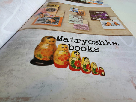 Matryoshka Book Project from Re:Create by Liz Constable