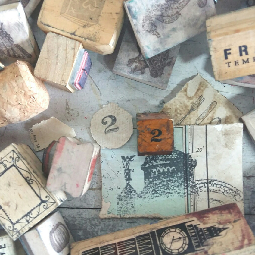stamp party book art studios