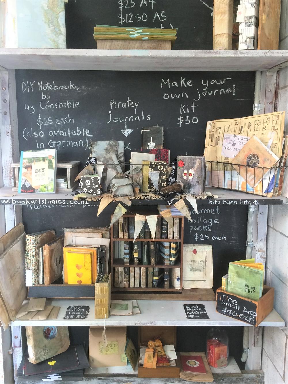 Blackboard shop by book art studios