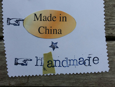 Handmade at made in china prices?