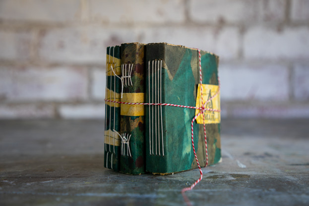 Three small journals by Book Art Studios