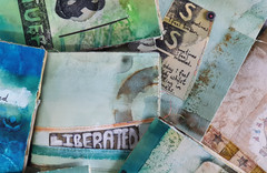 A collection of journals by Book Art Studios