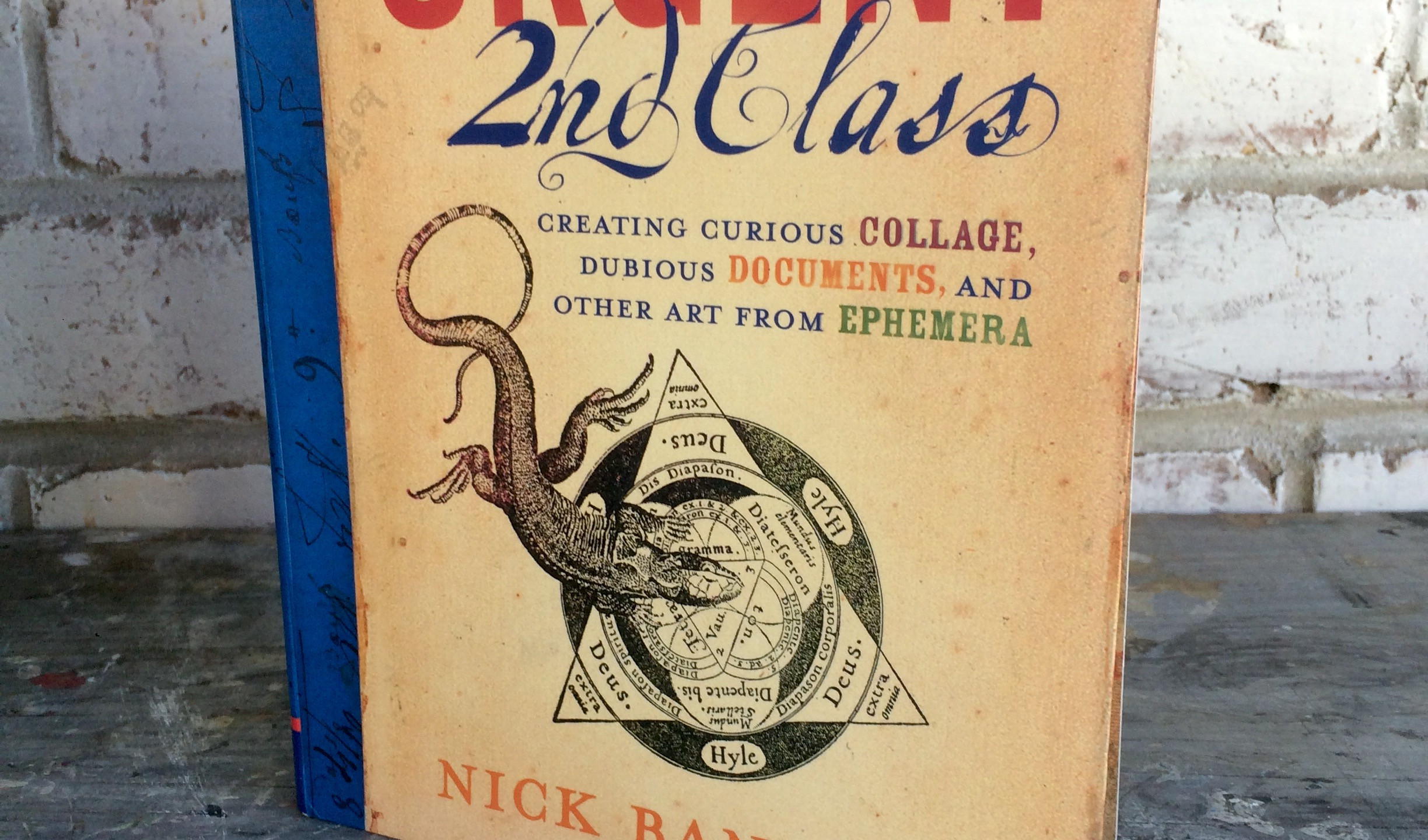 Urgent Second Class by Nick Bantock