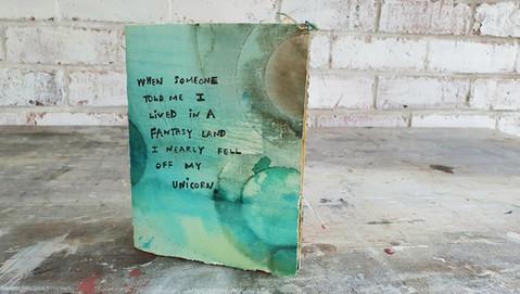 Unicorn journal by Book Art Studios