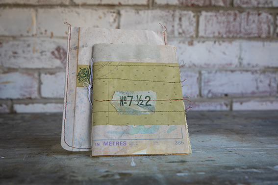art journal by book art studios