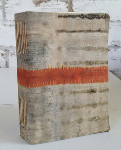Orange band by Book Art Studios