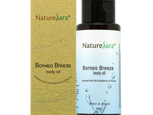 Borneo Breeze Body Oil 60ml $12.50