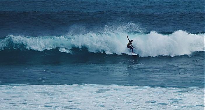 Catching an Ocean Wave