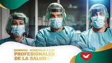 Domingo - Homenaje a los Profesionales de la Salud