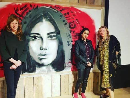 Noura Bint Saidan at Humanity House