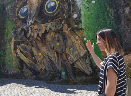 Romantic Portugal - Chapter 2 - Street Art and Wool
