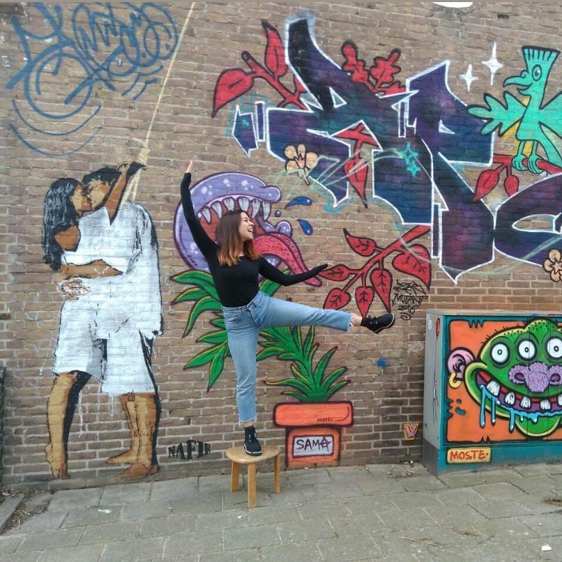 Street Art Museum Amsterdam, Last Kiss, Nafir